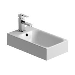 CHRIS BERGEN Designwaschtisch Gäste-WC Breite 45 cm
